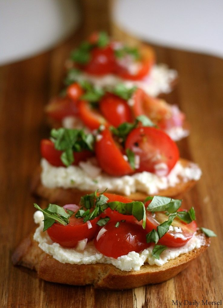 ... CROSTINI on Pinterest | Balsamic reduction, Tomato bruschetta and