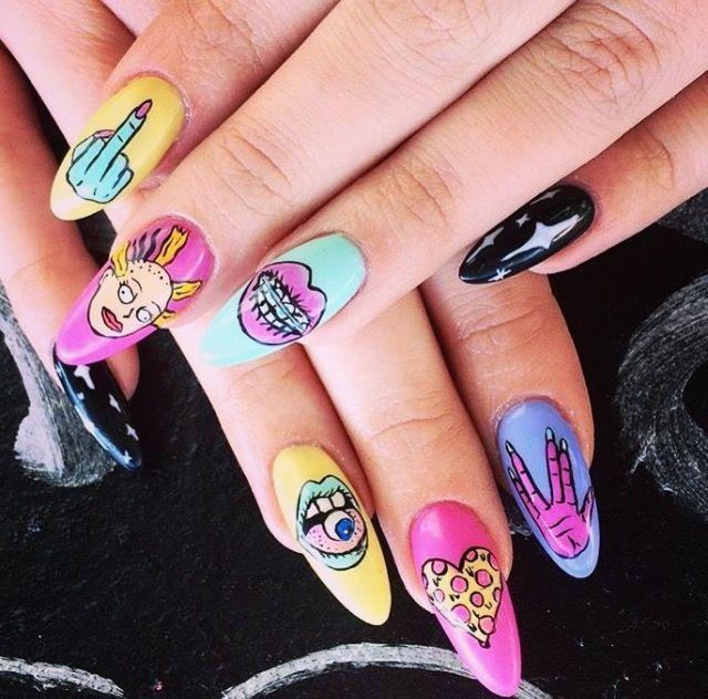 25 Trending Barbie Nail Games Ideas On Pinterest: 25+ Trending Alien Nails Ideas On Pinterest
