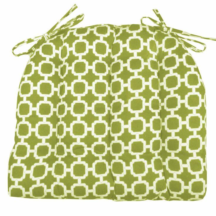 Hockley Green Indoor / Outdoor Dining Chair Pads & Patio Cushions - Fade Resistant, Mildew Resistant