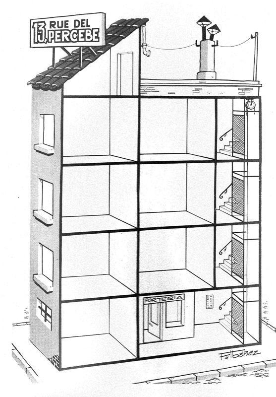 Arquitectura de 13 Rue del Percebe