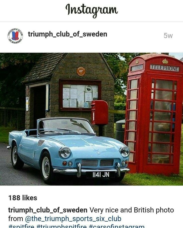 58 best Triumph Spitfire images on Pinterest | Triumph spitfire, Br ...