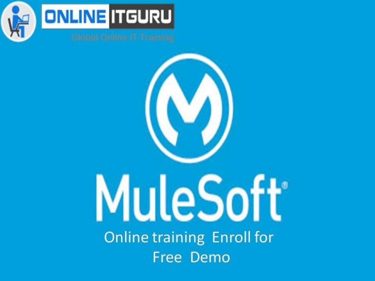 Mulesoft understands and associates between different stages such as.NET utilities web administrations or attachments.To get Mulesoft online training Enroll now with onlineitguru.  Mulesoft is trending technology And we are providing Mulesoft online training services from past 6 years. Enroll now for website or contact to 9885991924.   For More Info Contact   USA : +1 469 522 9879  INDIA : +91 988 599 1924,      +91 9550102466    Email: info@onlineitguru.com    1300 W Walnut Hill Ln, Suite…