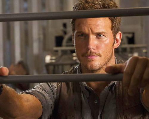 """Chris Pratt in """"Jurassic World"""" (2015)"""