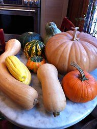 The Squash You Should Use in Pumpkin Pie--turns out, in ranked order, it's: butternut squash, acorn squash, kabocha. NOT sugar pumpkin.