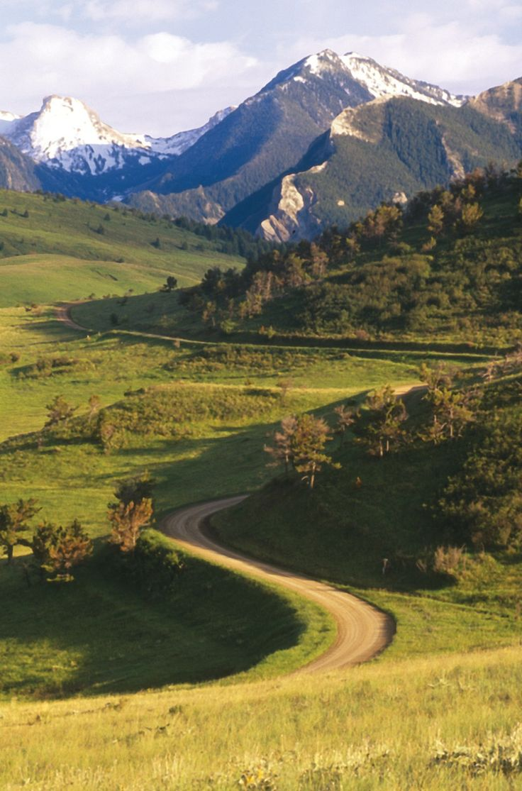 Absaroka Range East of Livingston, Montana