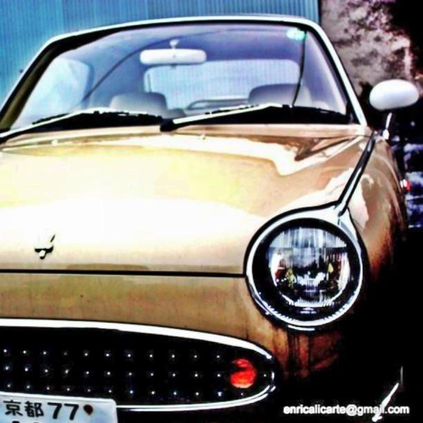 Old Japan car