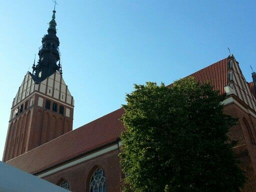 Elbląg - St Nichola's Cathedral.
