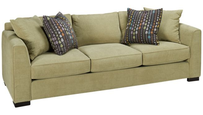 Jordan S Furnature Sage Modern Traditional Sofa For The