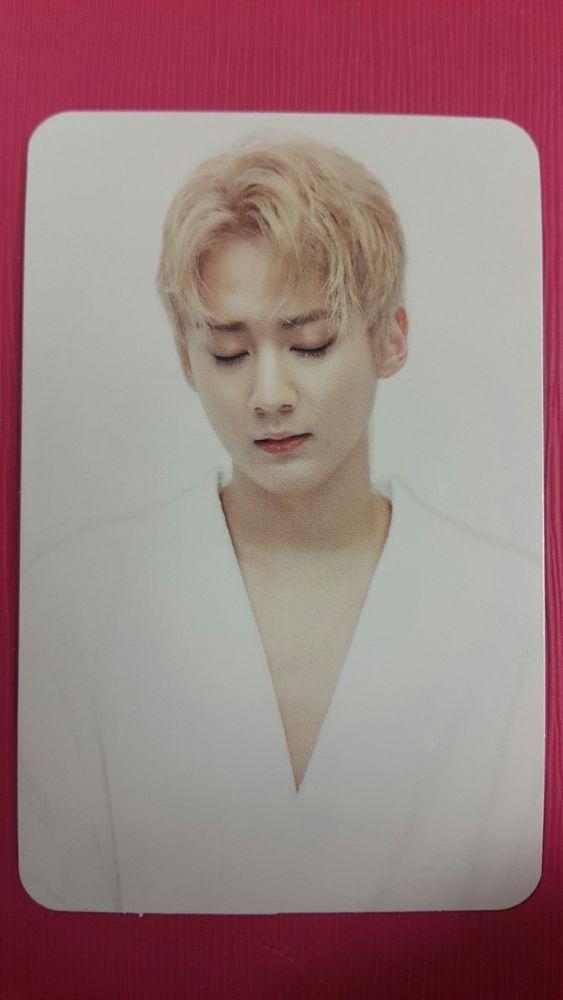 TEENTOP CHUNJI Official Photocard #1 RED POINT 7th Album Photo Card 천지