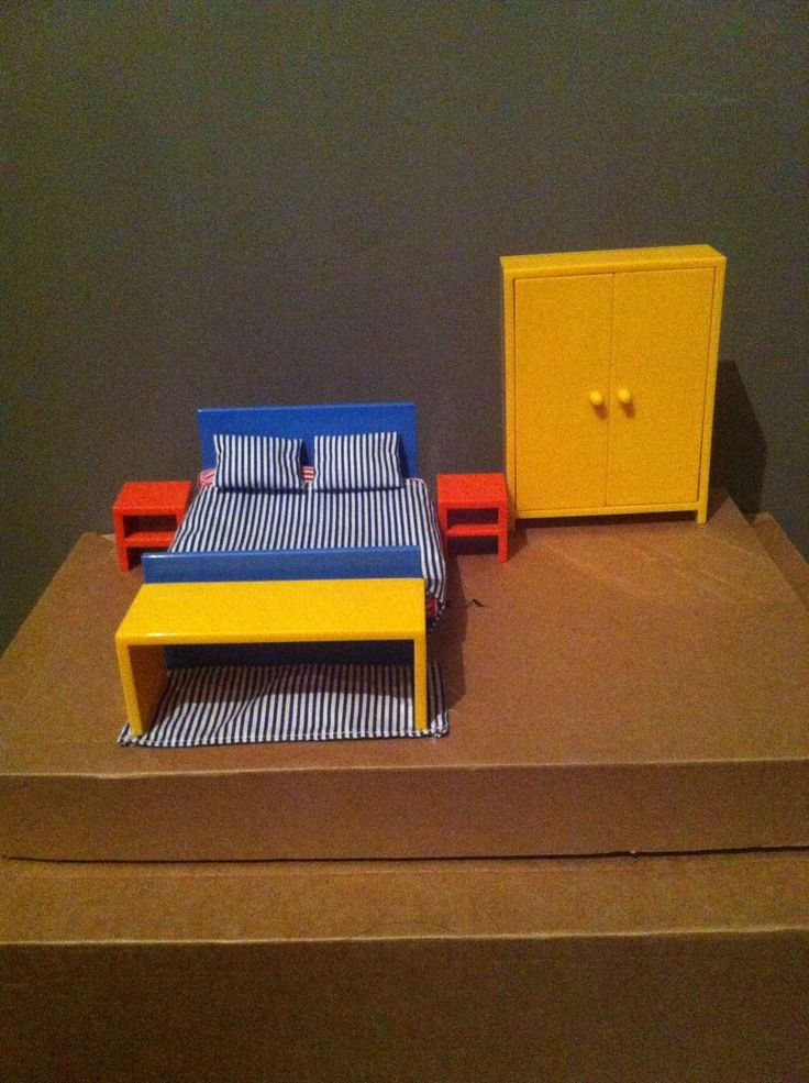 Ikea Dolls House Furniture Complete Set