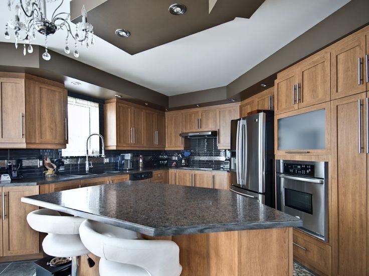 17 meilleures images propos de armoire de cuisine sur for Armoire blanche cuisine