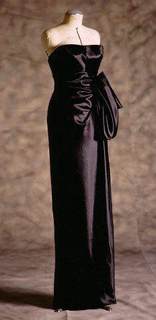 Gilda (1946) — Rita Hayworth's iconic black gown, designed by Jean Louis