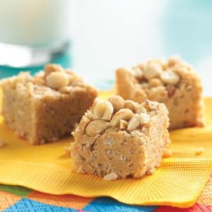 No-Bake Peanut Butter Squares Recipe