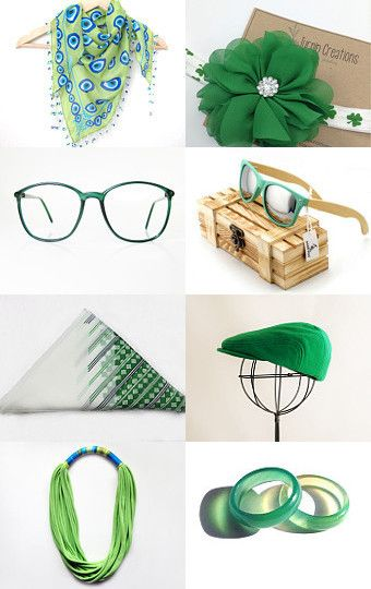Green by Chiara Musso on Etsy--Pinned with TreasuryPin.com