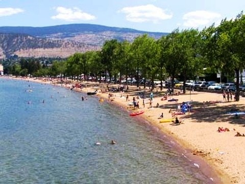 Swimming in also a highlighted activity in Kelowna especially during summer.