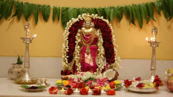 Varalakshmi Pooja Decoration Ideas