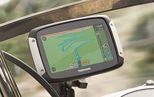 Navigatore GPS per motocicletta TomTom