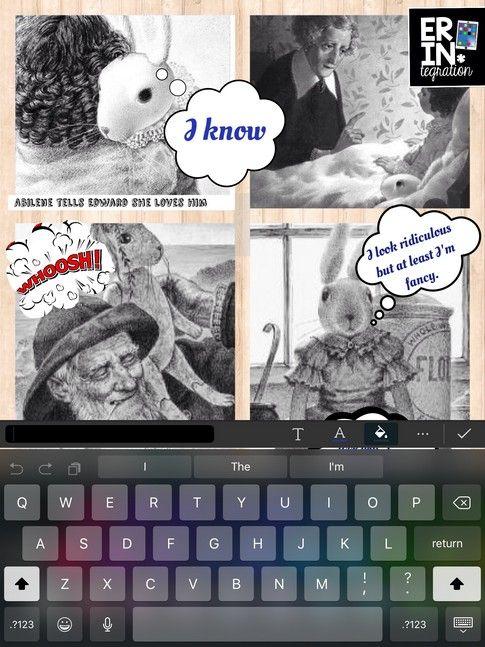 DIGITAL COMICS ON THE IPAD WITH PICCOLLAGE | COMIC STRIP