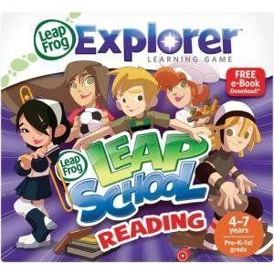 LeapFrog Enterprises 39089 Explorer LeapSchool Reading by LeapFrog. $22.99. Theme/Subject: Learning - Skill Learning: Reading, Spelling, Logic, Reasoning General InformationManufacturer:LeapFrog Enterprises, IncManufacturer Part Number:39089Manufacturer Website Address:www.leapfrog.comBrand Name:LeapFrogProduct Line:ExplorerProduct Model:39089Product Name:Explorer LeapSchool Reading GameProduct Type:GameProduct InformationTheme/Subject:LearningSkill Learning: