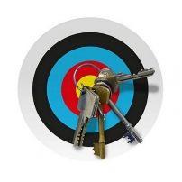 Wieszak na klucze Magnetic Key Target Board  #dom #klucze #wieszak