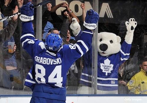 Mikhail Grabovski Toronto Maple Leafs