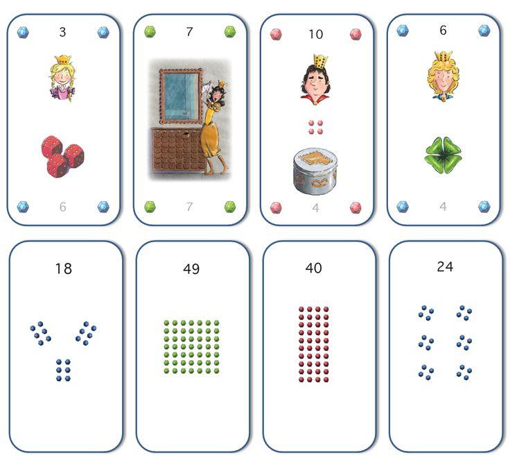 Twix kaartspel - tafels in beeld en verhaal!
