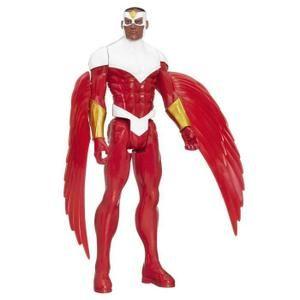 Figurine Avengers : Série Héros Titan 30 cm : Marvel's Falcon aille Unique Coloris Unique