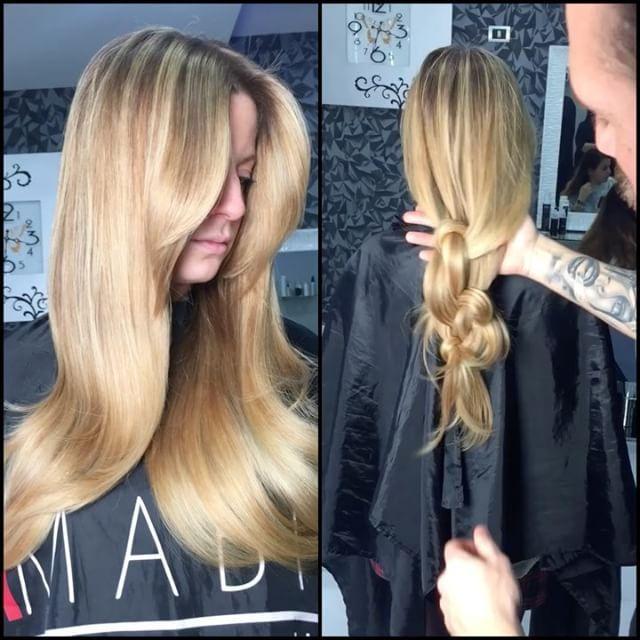 I biondi che fanno impazzire le donne 😍😍#sfumature #mielate  AMABILE HAIR Curalo con il nostro siero a base di cheratina per avere capelli sempre lucidi e setosi❤️
