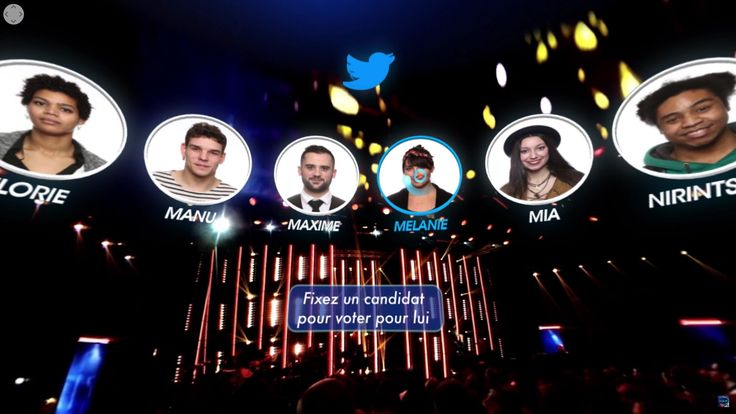 "Nouvelle Star: Live 360 Social Voting by D8 -  Starting on April 5th, French TV viewers could experience an interactive live broadcast of the final stage live shows of singing competition ""Nouvelle Star"" (the French adaptation of ""Pop Idol"") in virtual reality."