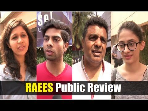 WATCH Public Review of RAEES | Shahrukh Khan, Nawazuddin Siddiqui, Mahira Khan. Click here to see the full video >>> https://youtu.be/P3miLV_n9u0 #raees #shahrukhkhan #bollywood #bollywoodnews #bollywoodnewsvilla