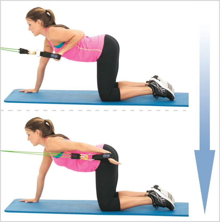 Workout With Bands For Arms: 37 Best Tricep Workouts Images On Pinterest