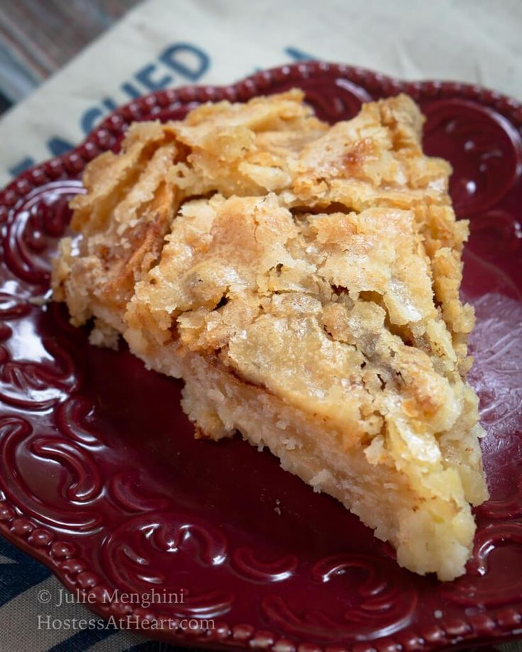 Swedish Apple Pie – The easiest pie you'll ever make