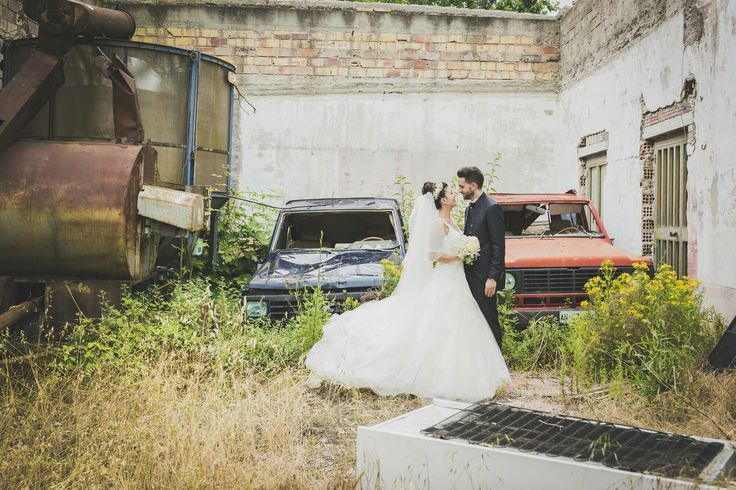 #couple #sposi #grunge #bride #groom #studiofotosintesi