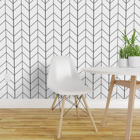 Arrow Wallpaper Small Arrow Chevron White By Tycdesignco Arrow Custom Printed Removable Self Adhesive Wallpaper Roll By Spoonflower Peel And Stick Wallpaper Wallpaper Roll Removable Wallpaper
