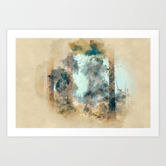Forest II Art Print by JKdizajn - $22.88