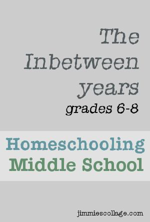 Homeschooling Middle School.... This has some great tips!!