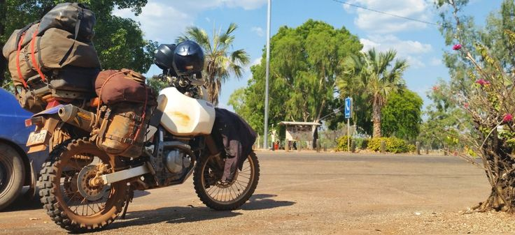 Adventure touring Australia on Suzuki DR650 AVDrider