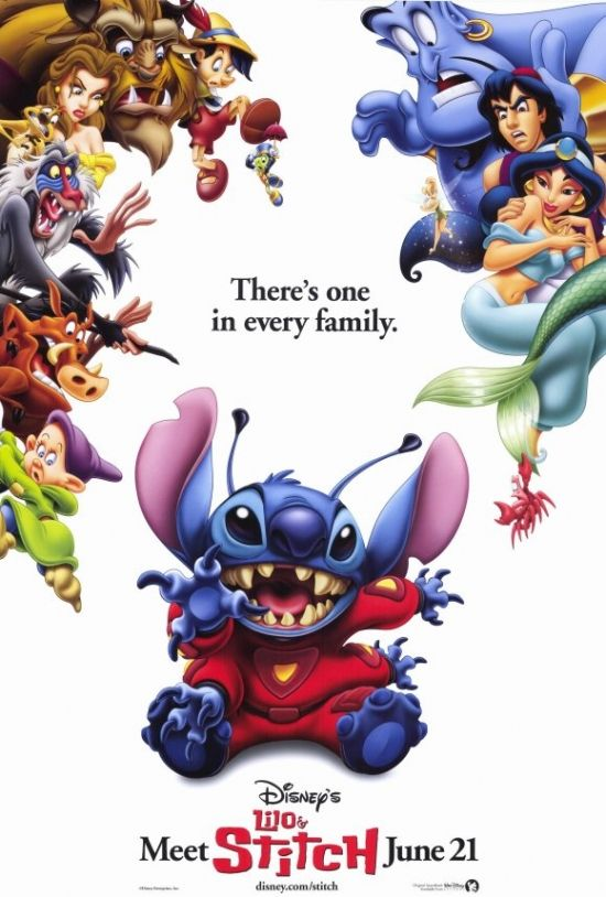 Lilo & Stitch Movie Poster Print (27 x 40) - Item # MOVGF0267 - Posterazzi