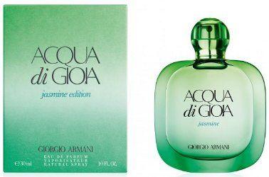 Giorgio Armani Acqua Di Gioia Jasmine - Giorgio Armani will launch Acqua Di Gioia Jasmine Edition in June. The new fragrance for women is a flanker to 2010′s Acqua Di Gioia, and will be fronted by model Emily DiDonato.