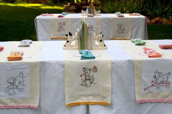 Vintage Children's Book-Themed Party- so sweet!