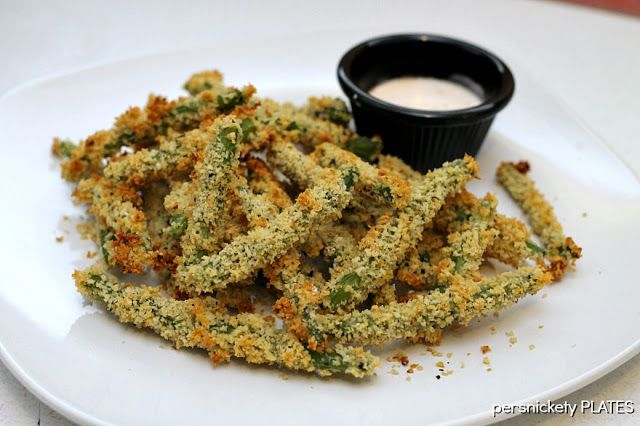 Persnickety Plates: Baked Green Bean Fries