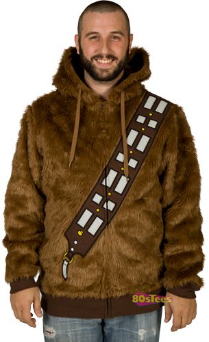 """Pretty sure this goes just past """"want"""", into """"need"""".  Chewbacca Fur Hoodie, thanks for the link Jon."""