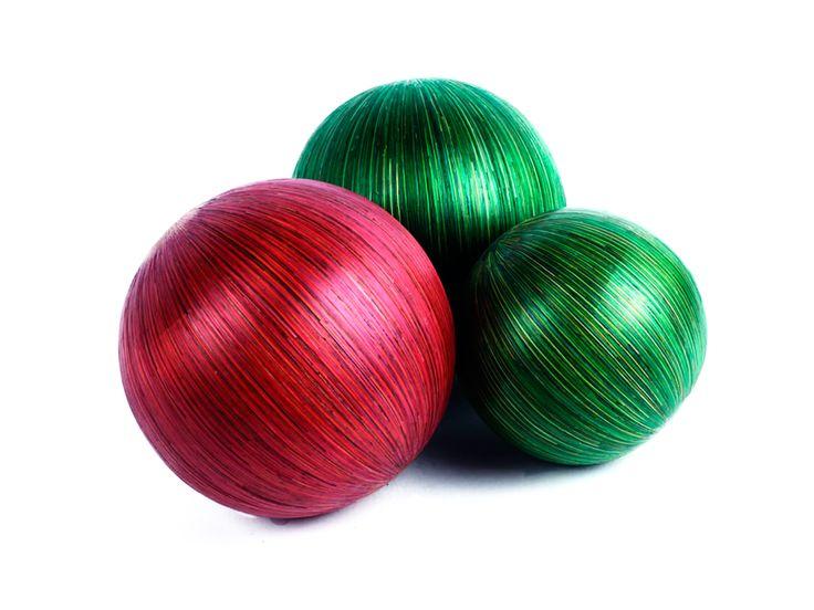 Juego de Esferas en Tamo - Catálogo de Productos - Artesanías de Colombia