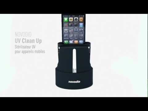 Novodio UV Clean Up for iPhone - #accesoires #iphone #gadgets #high #tech #technologie #Macway