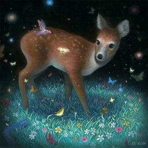 KiSung Koh Paints Enchanting New Visions in Tribute to Nature | Hi-Fructose Magazine