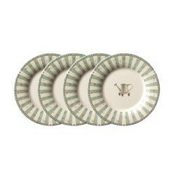 Pfaltzgraff Naturewood Accent Salad Plates, Set of 4 by Pfaltzgraff. $29.99. Naturewood is a study of botanical beauty that is rendered in a soft, natural color palette. A series of framed potted herbs are interspersed with detailed sketches of leaves, and delicate stripes and accents of garden elements decorate the wide selection of accessories. This could also be known as the 'bread' plate, 'dessert' plate, 'piece of fruit' plate, or the 'sneaking a snack' plate. M...