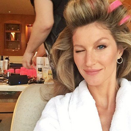 Gisele Bundchen hot rollers                                                                                                                                                                                 More