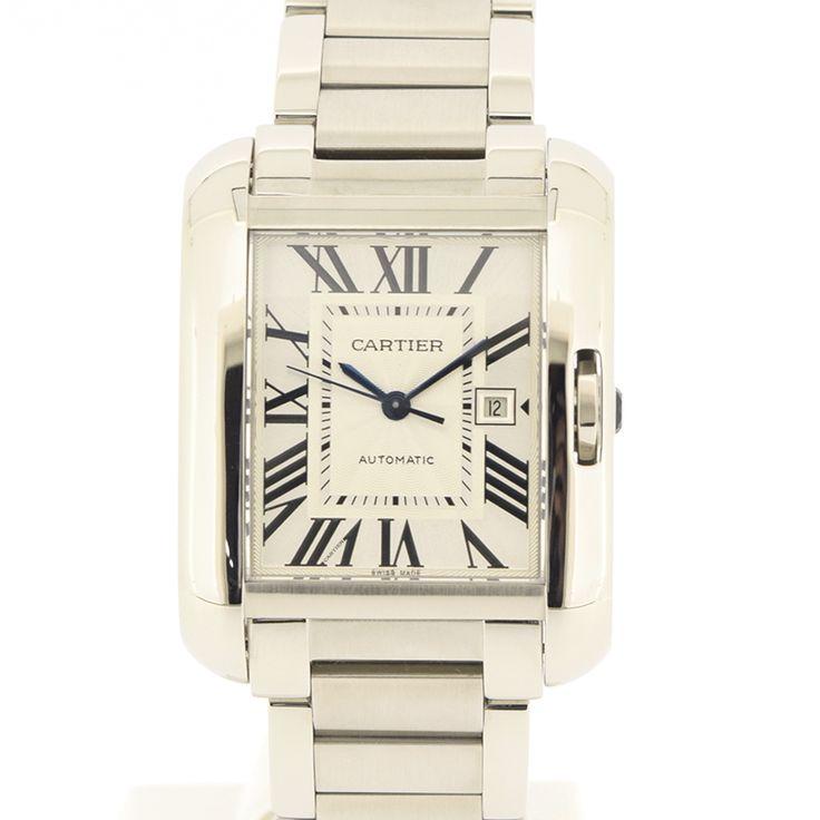 【商品名】カルティエ(Cartier) タンク アングレーズ SS シルバー文字盤時計【価格】¥428,000【状態】AB 多少の傷・汚れが見受けられる中古商品です。