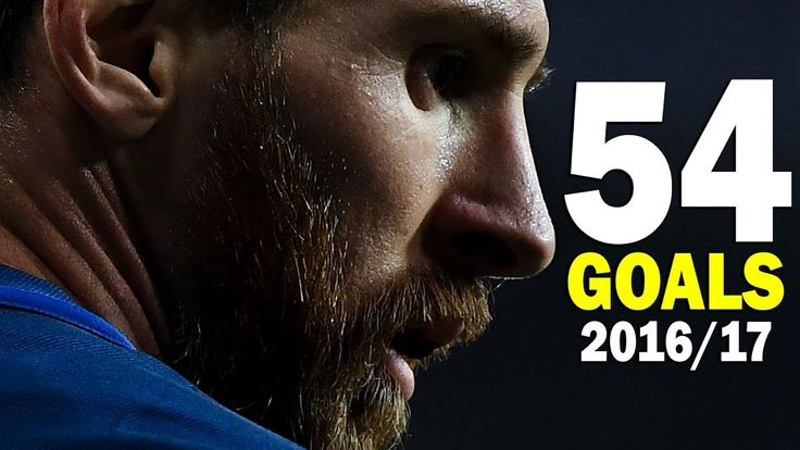 Lionel Messi - All 54 Goals for Barcelona 2016/17 - HD