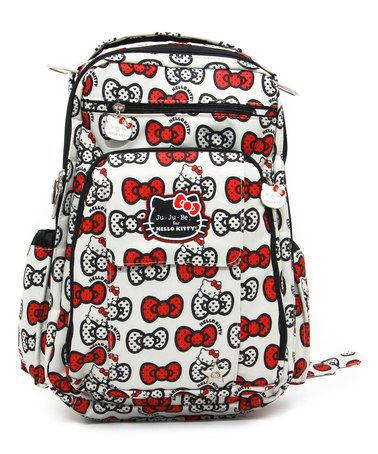Look what I found on #zulily! Peek-a-Bow Hello Kitty Be Right Backpack by Hello Kitty #zulilyfinds